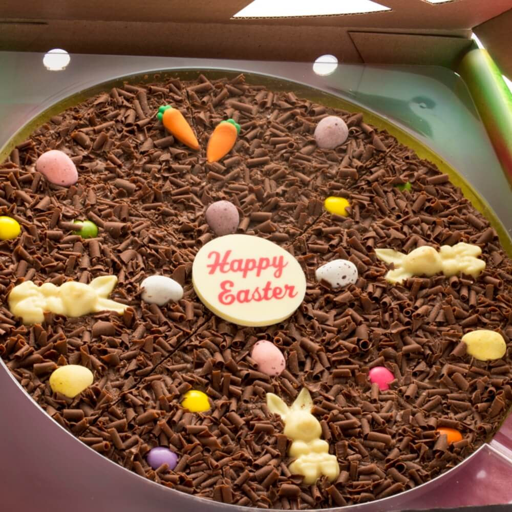 10 inch Easter Chocolate Pizza