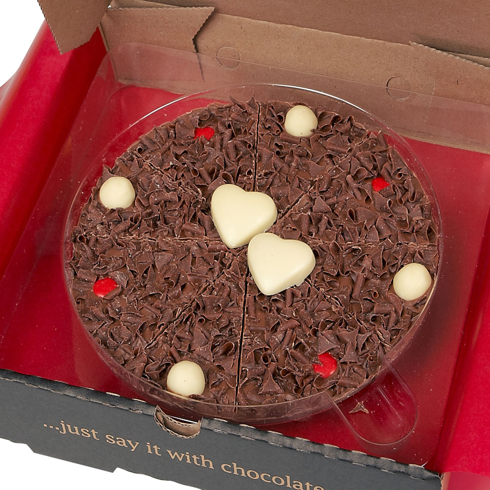 Our 7 inch Love Chocolate Pizza