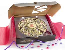 Magical Unicorn Chocolate Pizza
