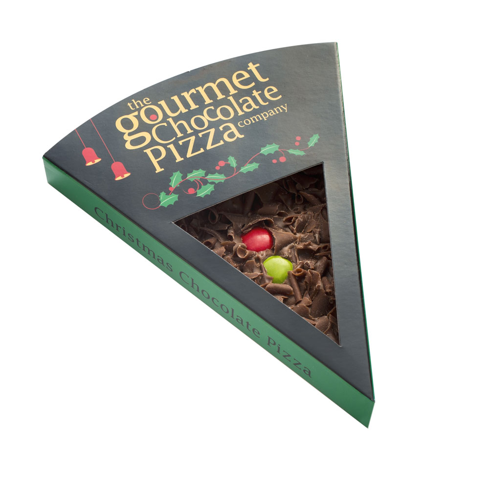 Christmas Pizza Slice