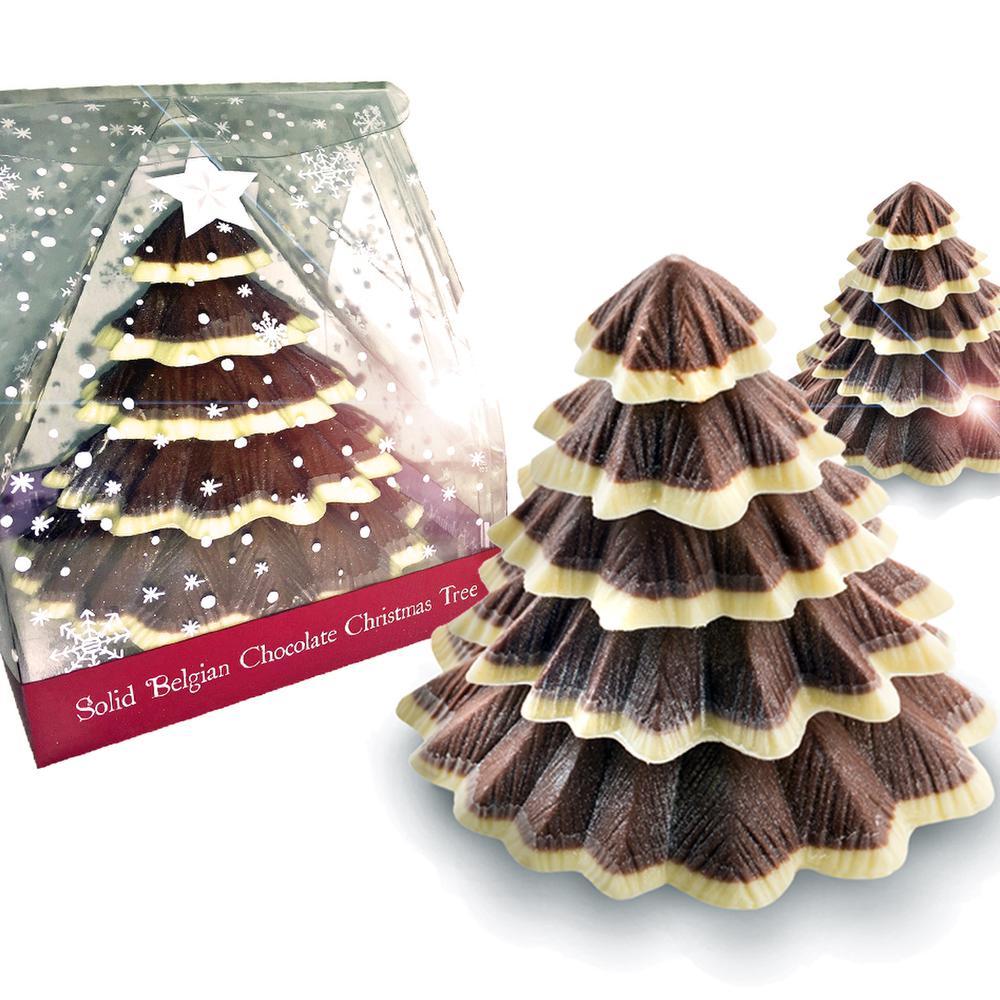 Chocolate christmas tree for Chocolate christmas decorations
