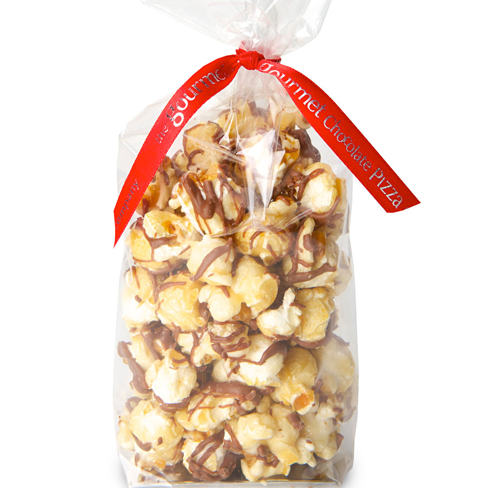 Includes delicious chocolate popcorn