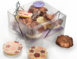Chocolate Flowers Gift Box