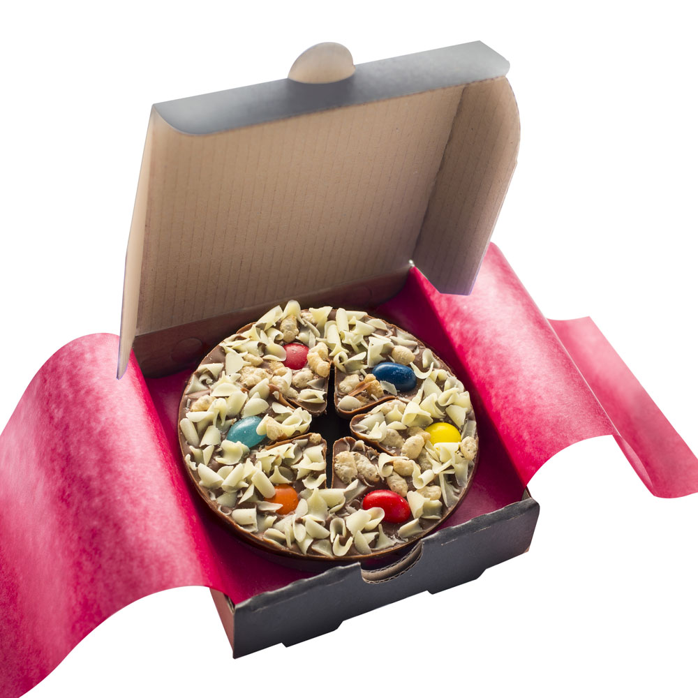 Jelly Bean Jumble Mini Chocolate Pizza