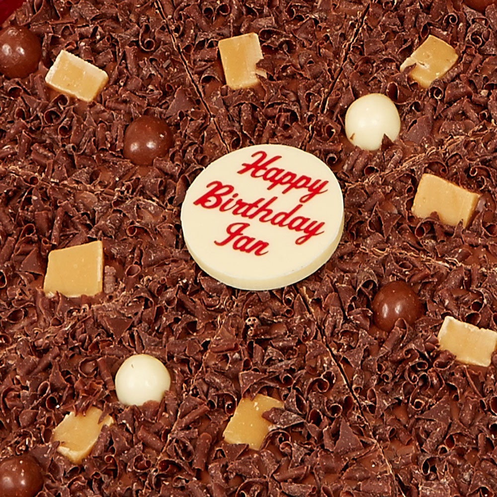 Say Happy Birthday with chocolate!